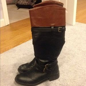 ADORABLE RAMPAGE TALL BOOTS